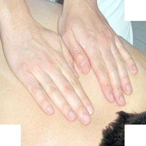 massage hand